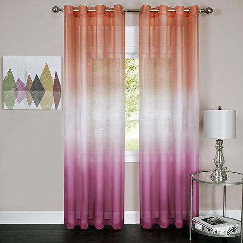 Rainbow - Single Grommet Window Curtain Panel