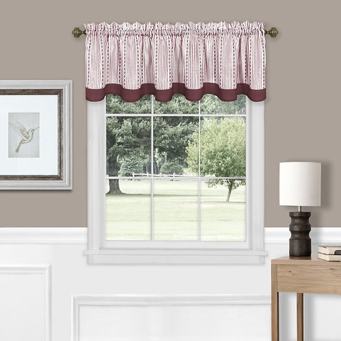 Westport Window Curtain Valance