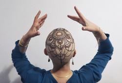 henna crown artiste de henné