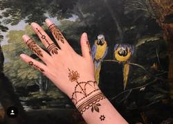 Artiste de Tatouage Henné France