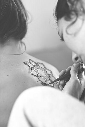 Artiste de Tatouage Temporaire