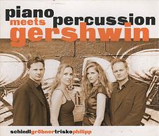 Piano meets percussion gershwin