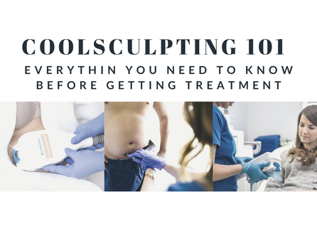 CoolSculpting 101 - Everything You Need To Know to Freeze Your Fat Away