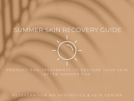 Summer Skin Recovery Guide