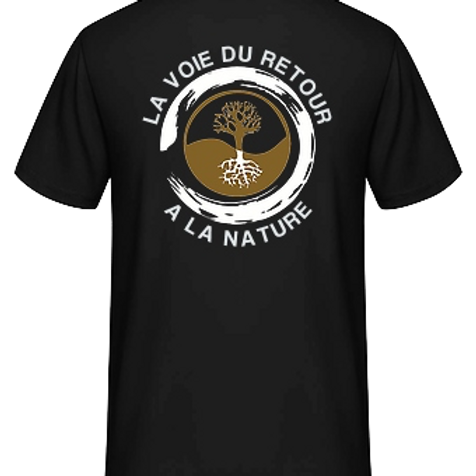 Tee shirt Bio noir
