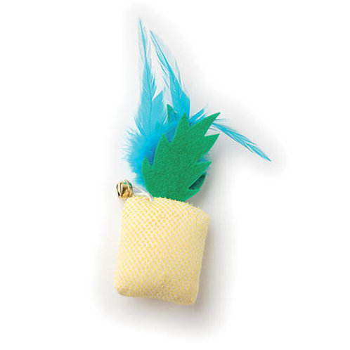 Jouet chat ananas 18cm