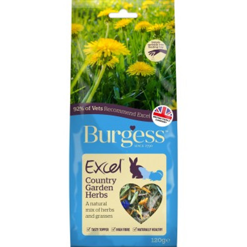 Excel Snacks Mélange d'herbes Country Garden Burgess