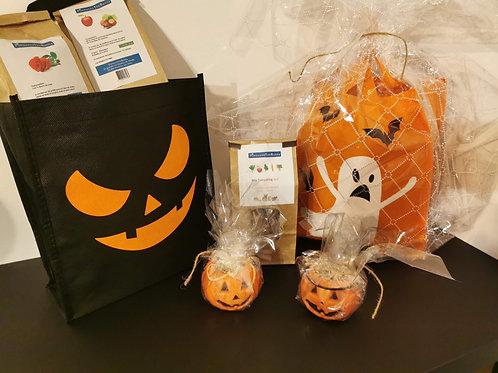 Sac à  friandises 100% naturelles Spécial Halloween