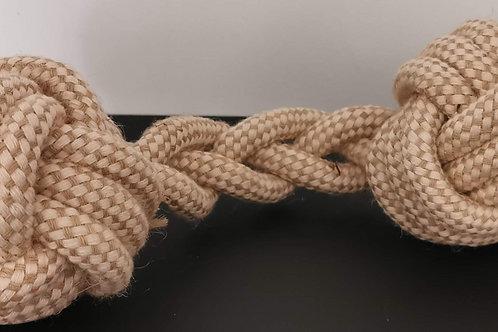 Haltère corde tressée L +/- 32 cm