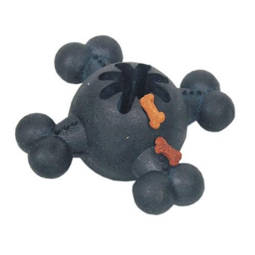 Jouet friandises caoutchouc dur noir 13 cm