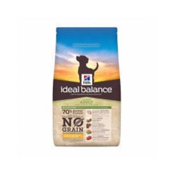 Hill's Ideal Balance chien no grain sans gluten Poulet ou thon 12 kg