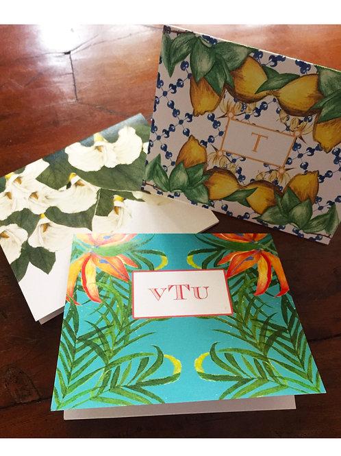 Folded Correspondence Cards