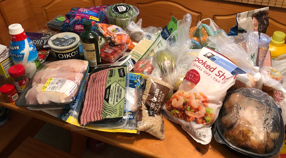 groceries; grocery haul