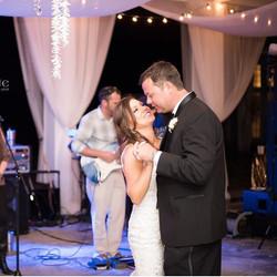 We said our _I Do's_ now Let's Dance! #weddingwalls #alabamaweddings #designingwithfabric #weddings