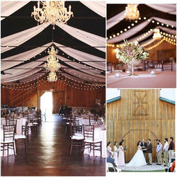 Is a barn wedding right for you_! It certainly was for this stunning couple! Beautiful images by Luc
