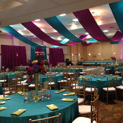 Congratulations Brittany & Walter!! We loved designing with these bold and beautiful colors! #weddin