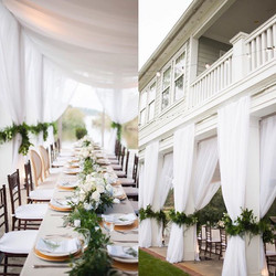 The perfect way to make all of the  florals and table settings even more magnificent is to have beau