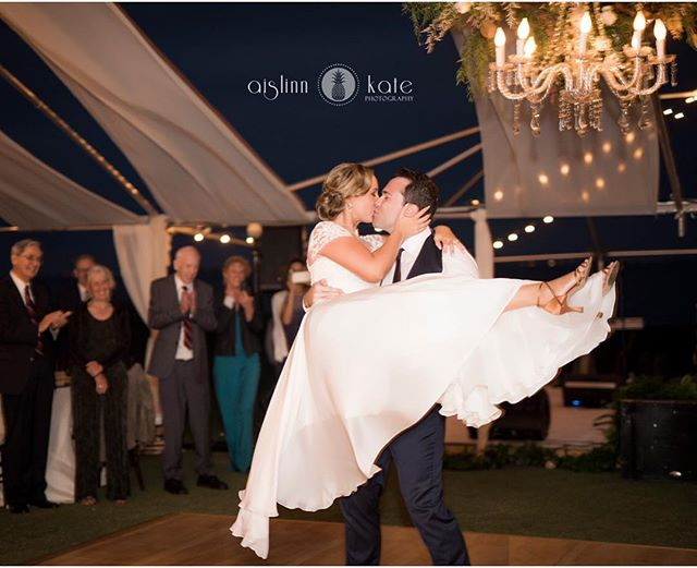 That first dance! #love #weddingwalls #chandeliers #pensacolaweddings #weddingwallspensacola