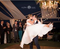 That first dance! #love #weddingwalls #chandeliers #pensacolaweddings #weddingwallspensacola