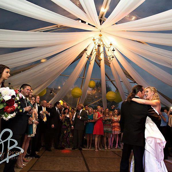 Dramatic Tent Draping