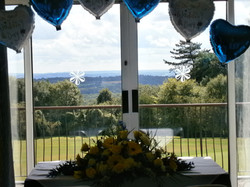 View from the Ceremony room