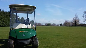 golf courses with buggies in kent