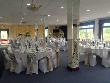 Wedding venue at Park Wood Golf Club