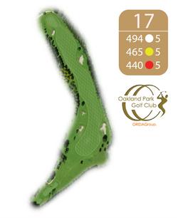 Oakland Golf Club Hole 17