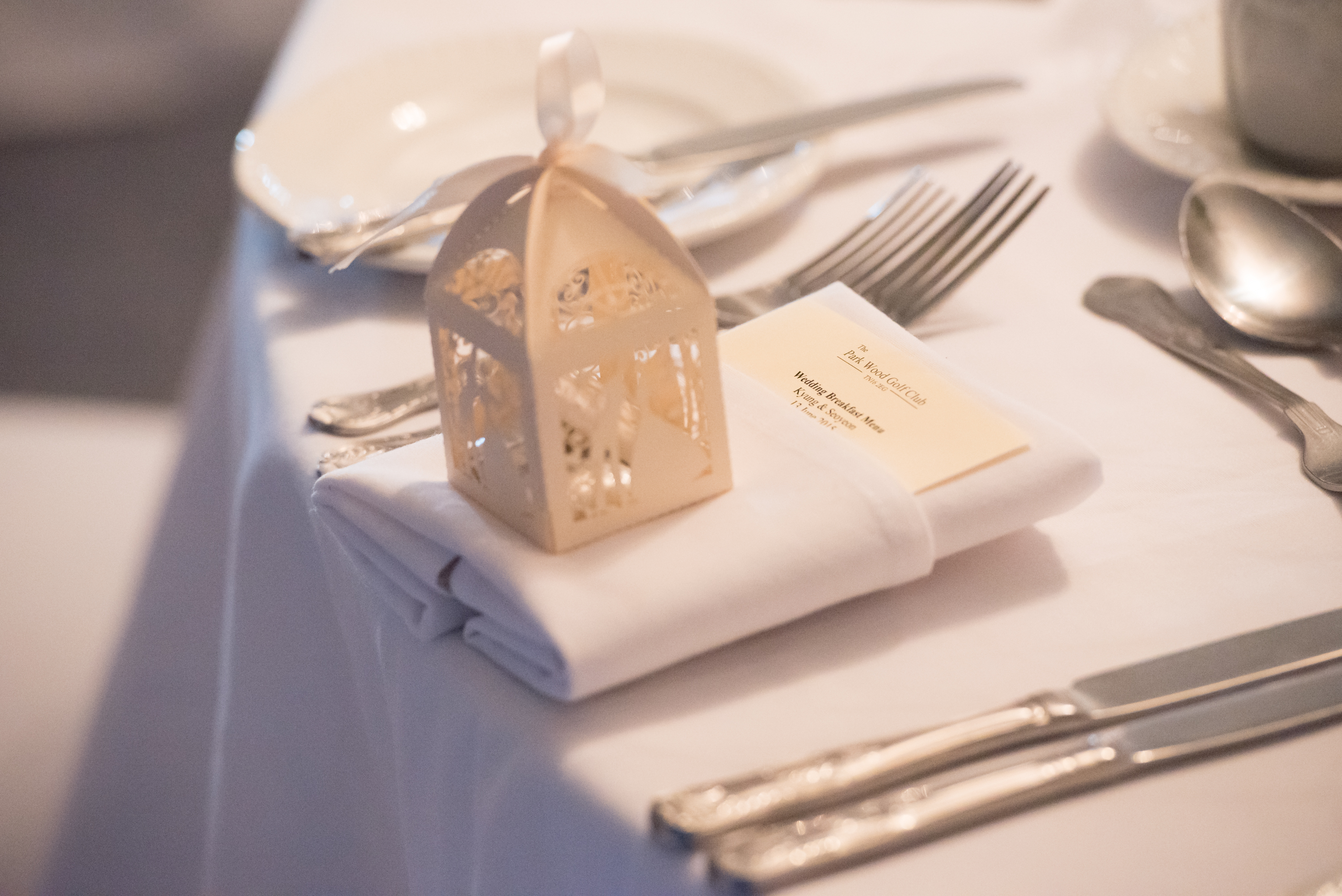 Example table napkin & favour