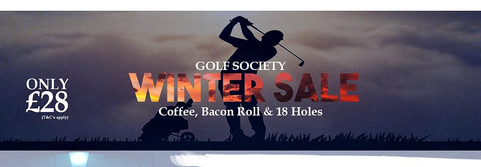 Winter Golf Society Sale