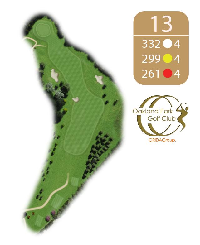 Oakland Golf Club Hole 13