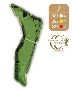 Oakland Golf Club Hole 7