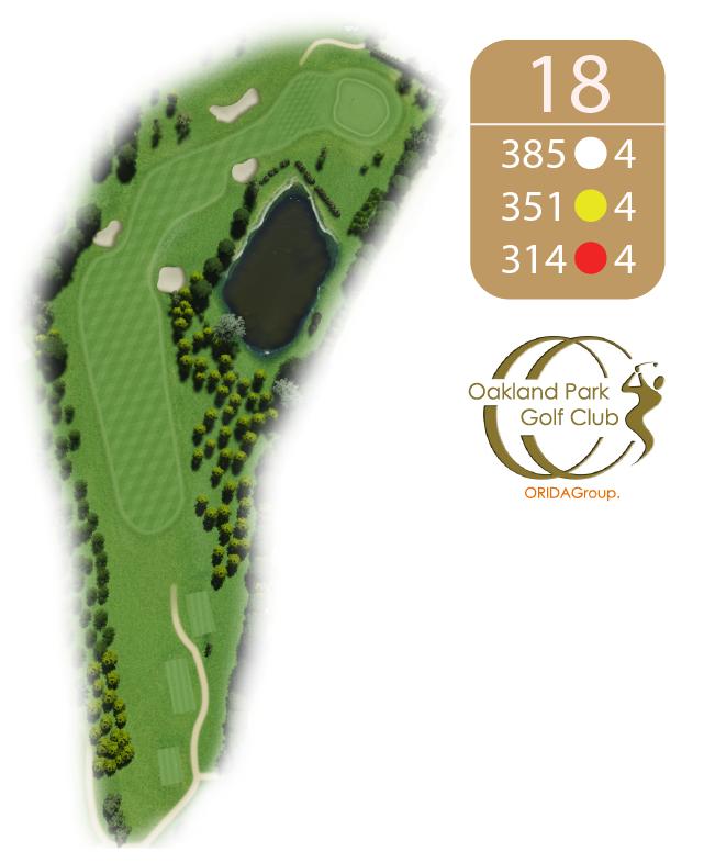 Oakland Golf Club Hole 18