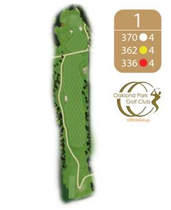 Oakland Golf Club Hole 1