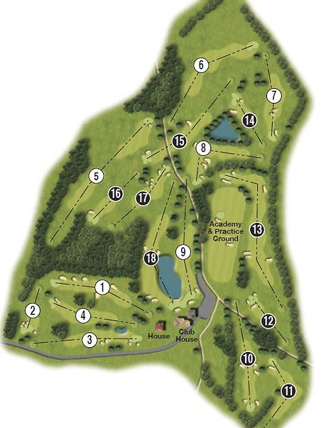golf courses in kent