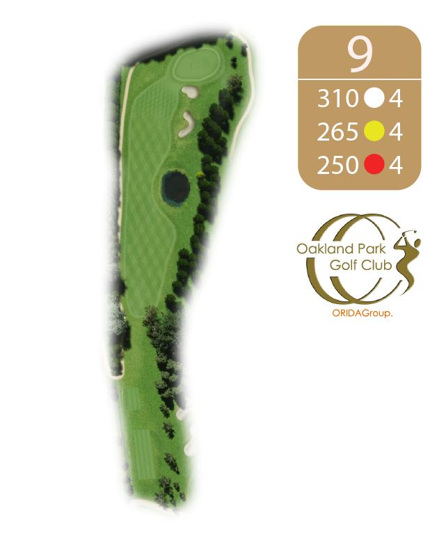 Oakland Golf Club Hole 9