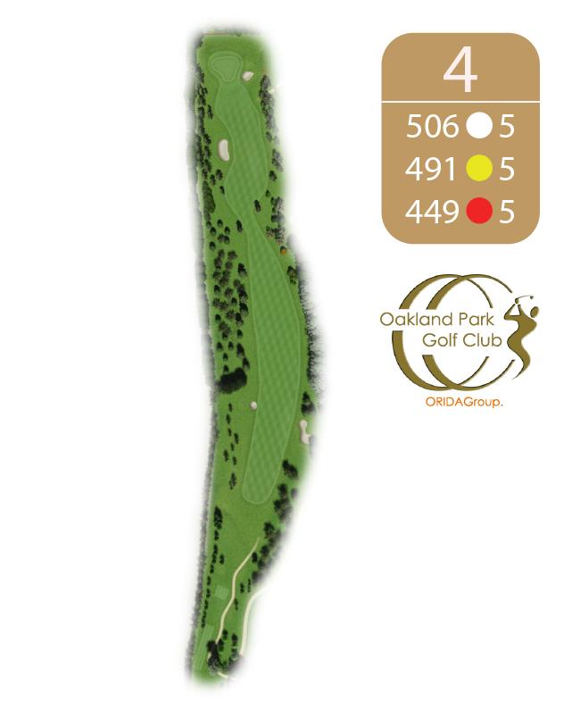 Oakland Golf Club Hole 4