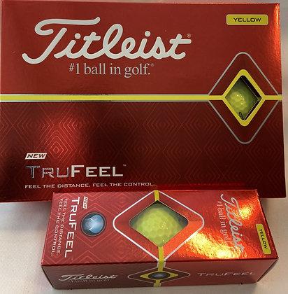 Titleist TruFeel (Yellow)
