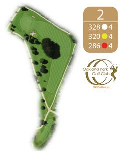 Oakland Golf Club Hole 2