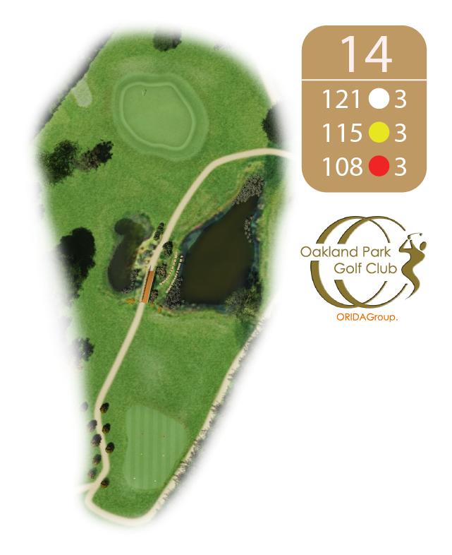 Oakland Golf Club Hole 14