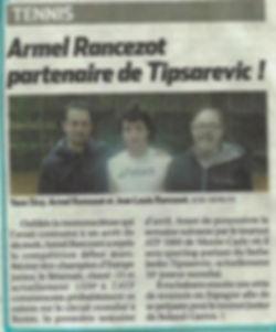 Janko TIPSAREVIC et Armel RANCEZOT