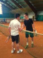 Respect lors du stage de tennis à l'Académie Pau Pyrénées