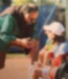Ecoute lors du stage de tennis à l'Academie Pau Pyrenees