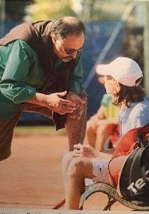 RANCEZOT et Thibaut Bilesimo ancien joueur du tennis études de l'académie