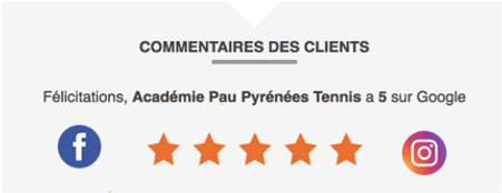 Commentaire academie pau pyrenees tennis