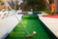 Mini golf lors du stage de tennis à l'Académie Pau Pyrénées