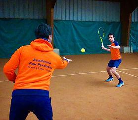 Terrains de Beach tennis de l'Académie Pau Pyrénées
