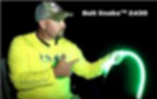 Bait Snake 2430 Green LED fishing light for boat pier or ice fishing
