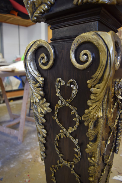 Ornate Embellishments for Tableau 2016 (University Production)