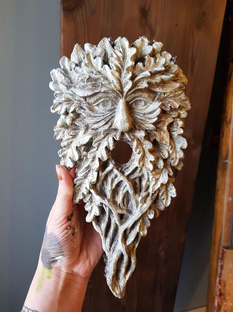 Handpainted Masks for The Cauldron London